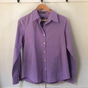 Women's Stretch button up dress shirt size medium